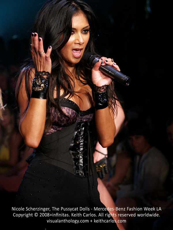 Nicole Scherzinger, The Pussycat Dolls - Mercedes-Benz Fashion Week 2008 March, Los Angeles, California - Copyright © 2007+infinitas. Keith Carlos. All rights reserved worldwide. visualanthology.com + keithcarlos.com