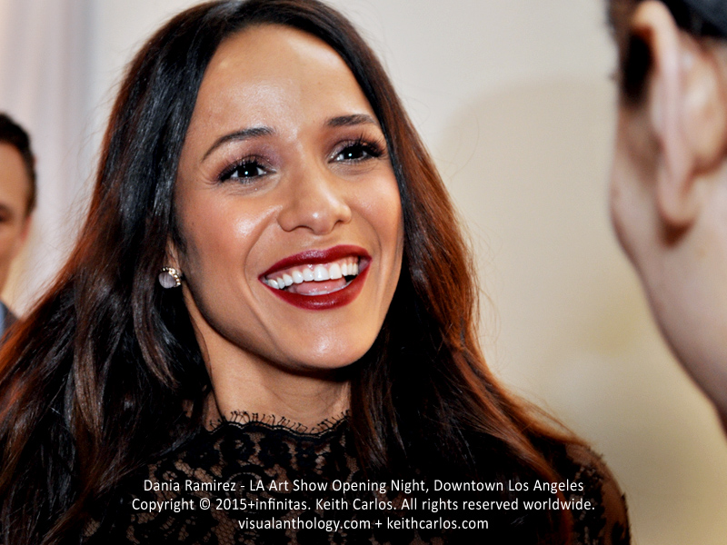 Dania Ramirez - Devious Maids, Premium Rush, Entourage, Heroes; LA Art Show Grand Opening Night Red Carpet Press Reception Party, Convention Center Downtown Los Angeles, California - Copyright © 2015+infinitas. Keith Carlos. All rights reserved worldwide. visualanthology.com + keithcarlos.com