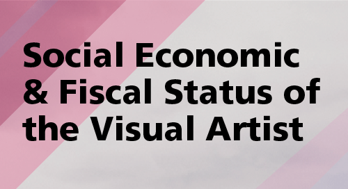 The Social, Economic & Fiscal Status of the Visual Artist in Ireland