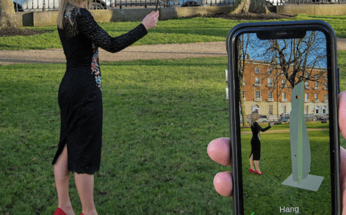 Six Works – Augmented Reality | Eilis O'Connell RHA at Wilton Park, Dublin