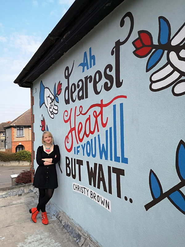 Quarantine House Mural | Sarah Bracken Soper on Raphoe Road, Crumlin