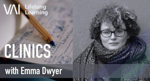 VAI Online: Clinic with Emma Dwyer (Co. Waterford Based Artists Only)
