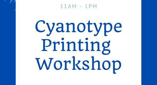 Cyanotype Workshop at Marlay Park