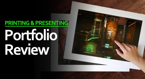 Portfolio Review for Photographers at Belfast Exposed