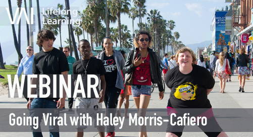 Webinar | Going Viral with Haley Morris-Cafiero