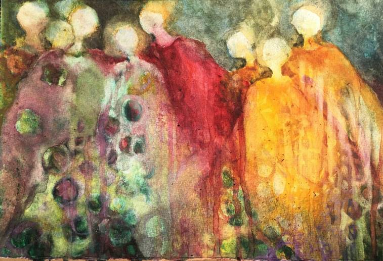 Earth's Silent Embrace | Jane Williams at Custom House Studios, Westport