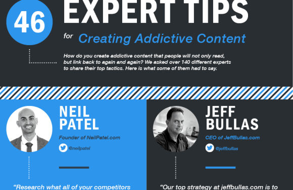 46 Expert Tips for Creating Addictive Content [Infographic]