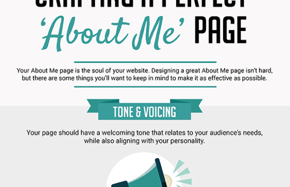 Crafting a Perfect About Me Page [Infographic]