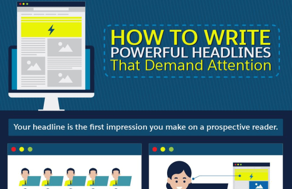 How to Write Powerful Headlines that Demand Attention [Infographic]