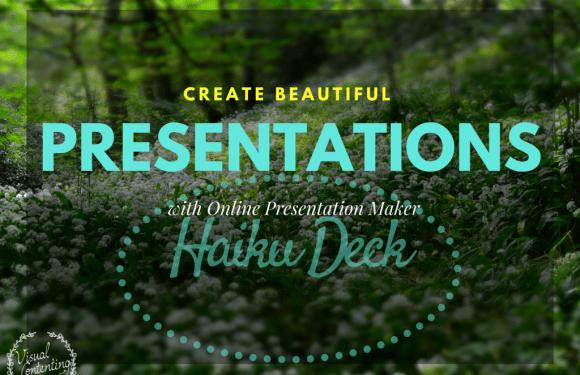 Create Beautiful Presentations with Online Presentation Maker Haiku Deck [#mapodcast]]