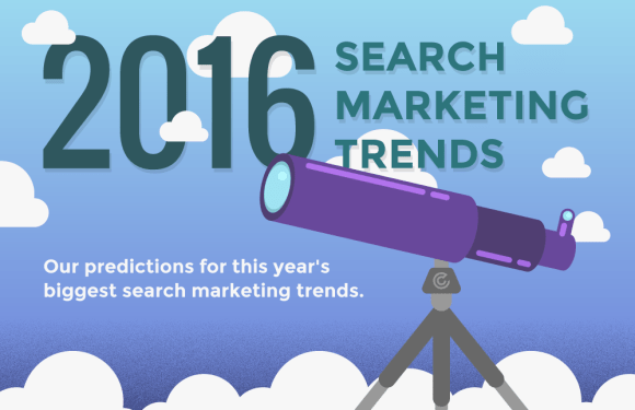 2016 Search Marketing Trends [Infographic]