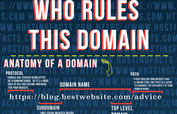 Who Rules this Domain? – Top Level Domains Explained [Infographic]