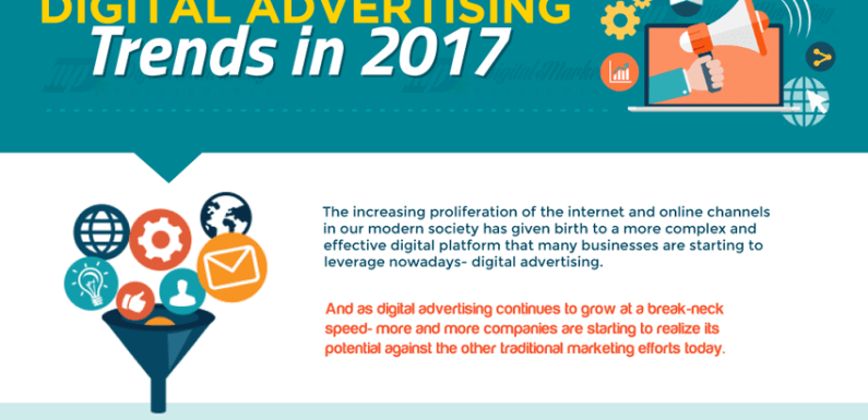 Digital Advertising Trends in 2017 [Infographic]