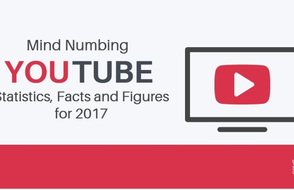 Mind Numbing YouTube Statistics, Facts and Figures for 2017 [Infographic]