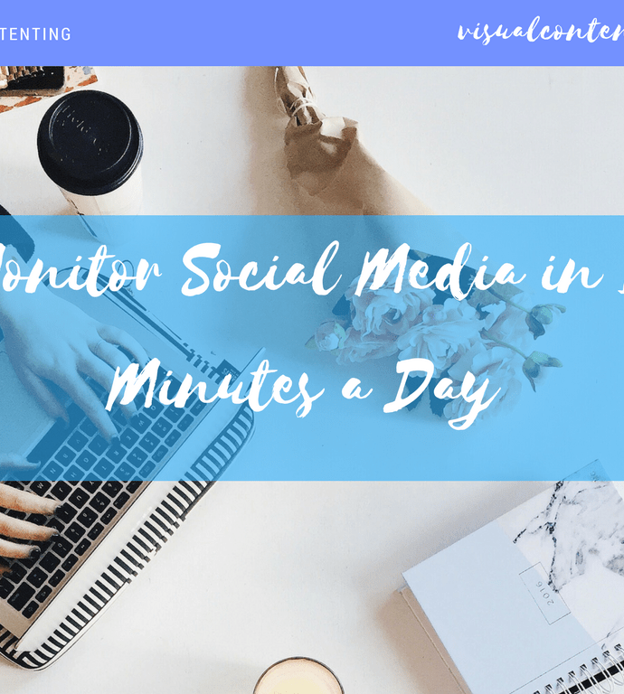Monitor Social Media in 10 Minutes a Day [Infographic]