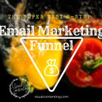 The Super Easy 6-Step Email Marketing Funnel Process [Infographic]