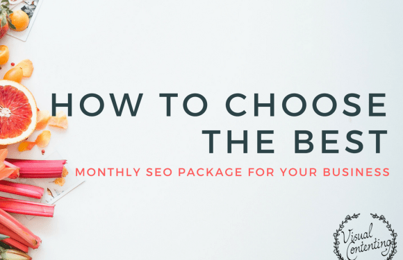 How to Choose the Best Monthly SEO Package for Your Business [Infographic]