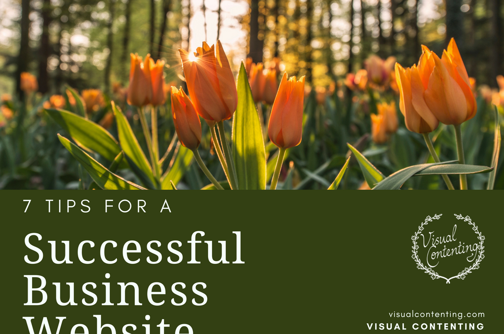 7 Tips for a Successful Business Website