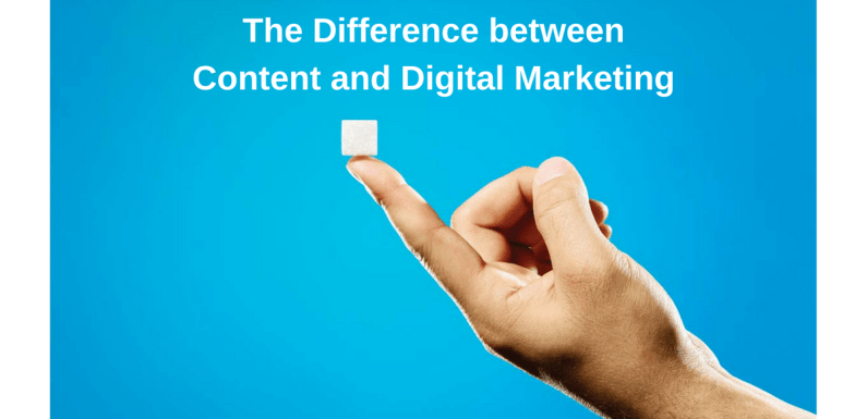 The Difference Between Content and Digital Marketing