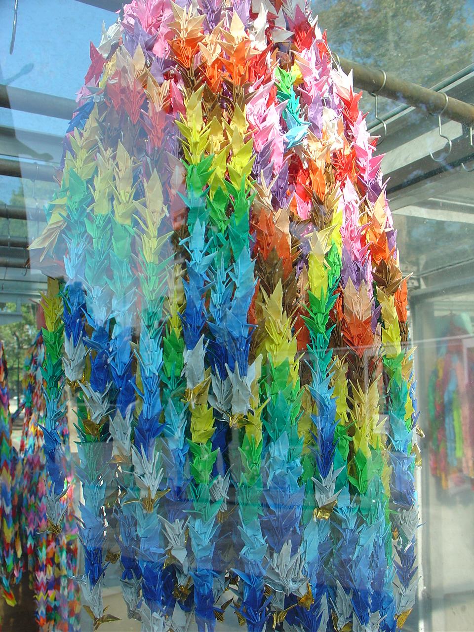 The Origin of Origami  Sadako Sasakis 1000 cranes  Visual Culture
