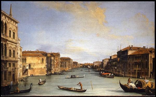 Canaletto - Veduta Del Canal Grande Google Art Project