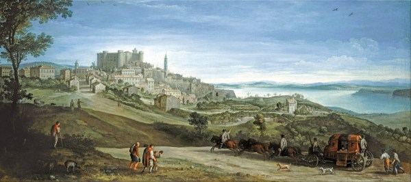 Paul Bril View of Bracciano