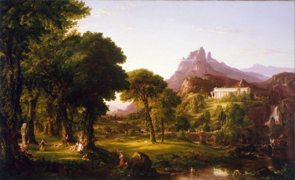 Dream of Arcadia Thomas Cole