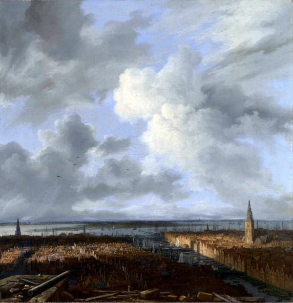 Jacob Van Ruisdael View of Amsterdam