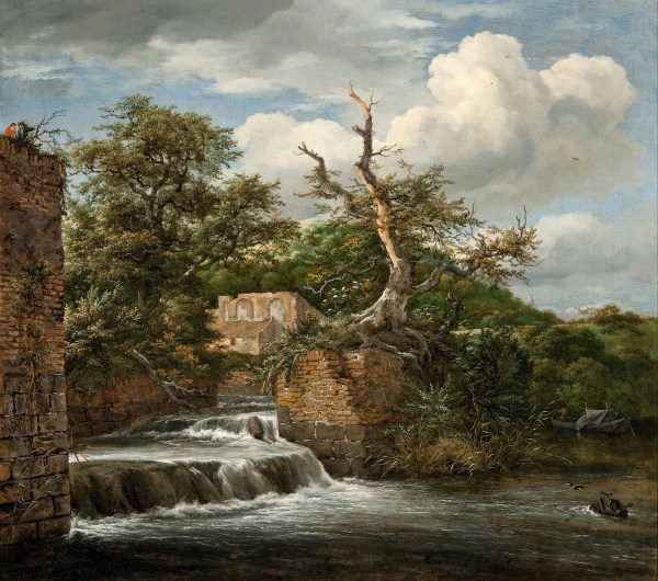 Jacob Van Ruisdael Landscape with Ruins