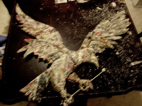 Eagle Mascot 3