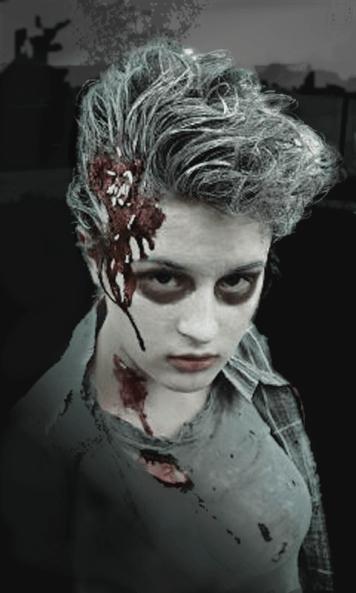 Christi Zombie Night Poster