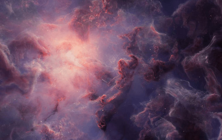 Teun van der Zalm : 3D Nebulae creation built from particle physics