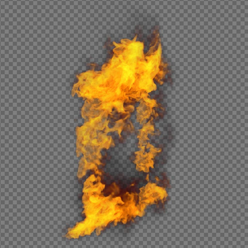 Window Fire Side - alpha channel
