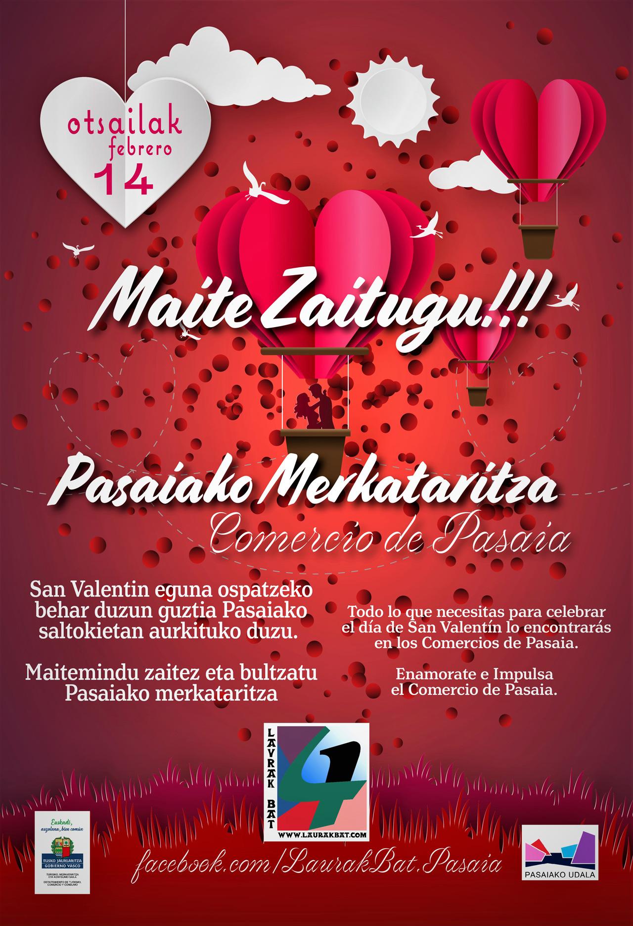 Laurak Bat – San Valentín 2019