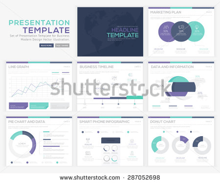 15 Presentation Templates Based on Pantone's Colors for 2017 ...