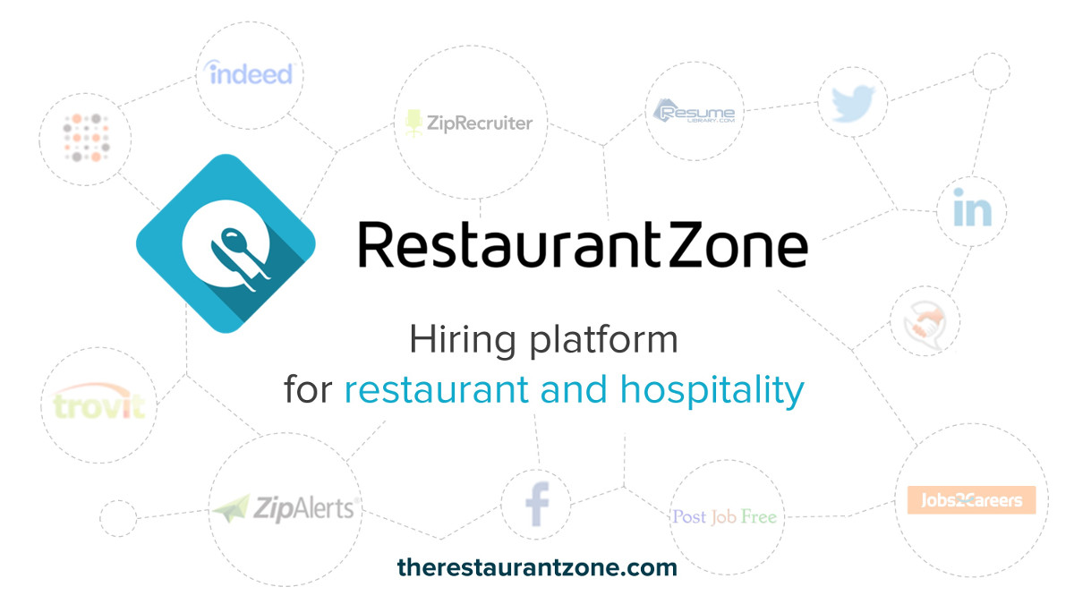Restaurantzone Is A Resume Aggregator That Sources Resumes From Multiple  Sources Including Email Lists, Search Engines, Social Media And More.