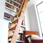 Vintage Library Ladder Visual Heart Creative Studio