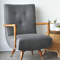 Where To Get Chairs Reupholstered Wingback Chair Covers Uk Mid Century Visual Heart Creative Studio