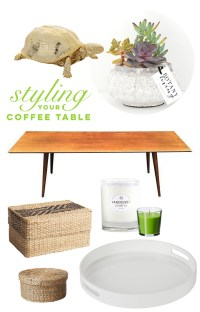 5 Tips For Styling A Coffee Table by visualheart