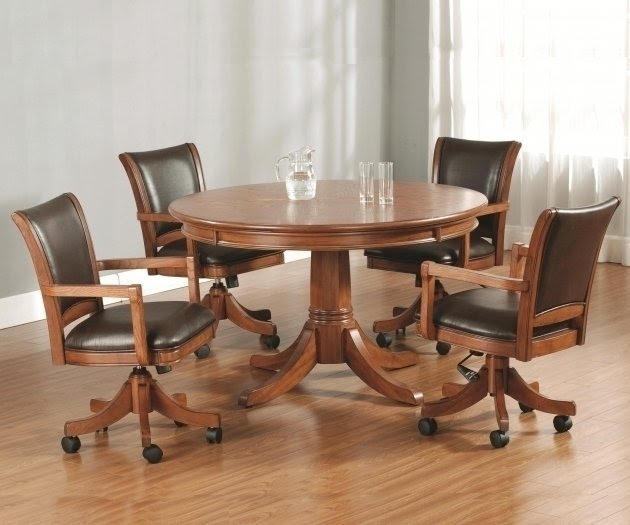 kitchen table and chair rosewood chairs for sale dinette sets with caster visual hunt 100