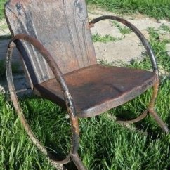 Cheap Lawn Chair King Austin Vintage Metal Chairs Visual Hunt 17 Best Images About Old Rusty On Pinterest