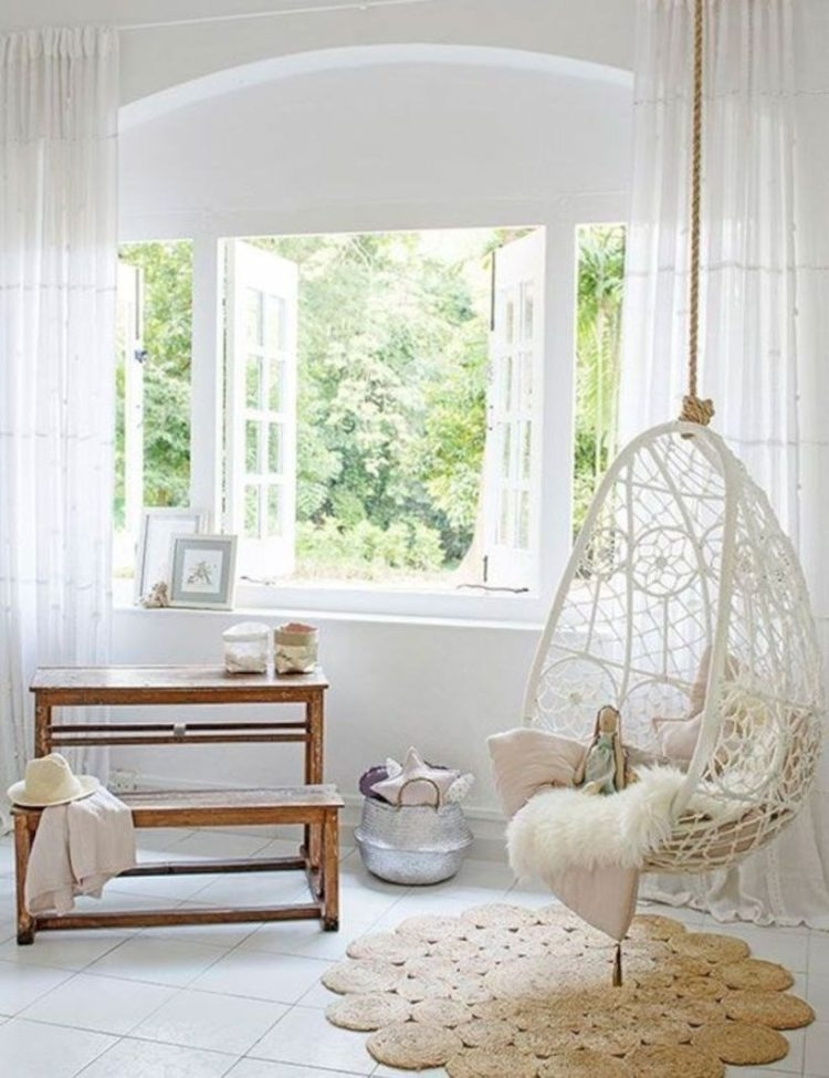 indoor swingasan chair cane back chairs for sale hanging bedroom visual hunt 25 best ideas about on pinterest