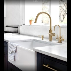 Brass Kitchen Sink Wall Pictures Antique Faucet Visual Hunt Vintage With Farm