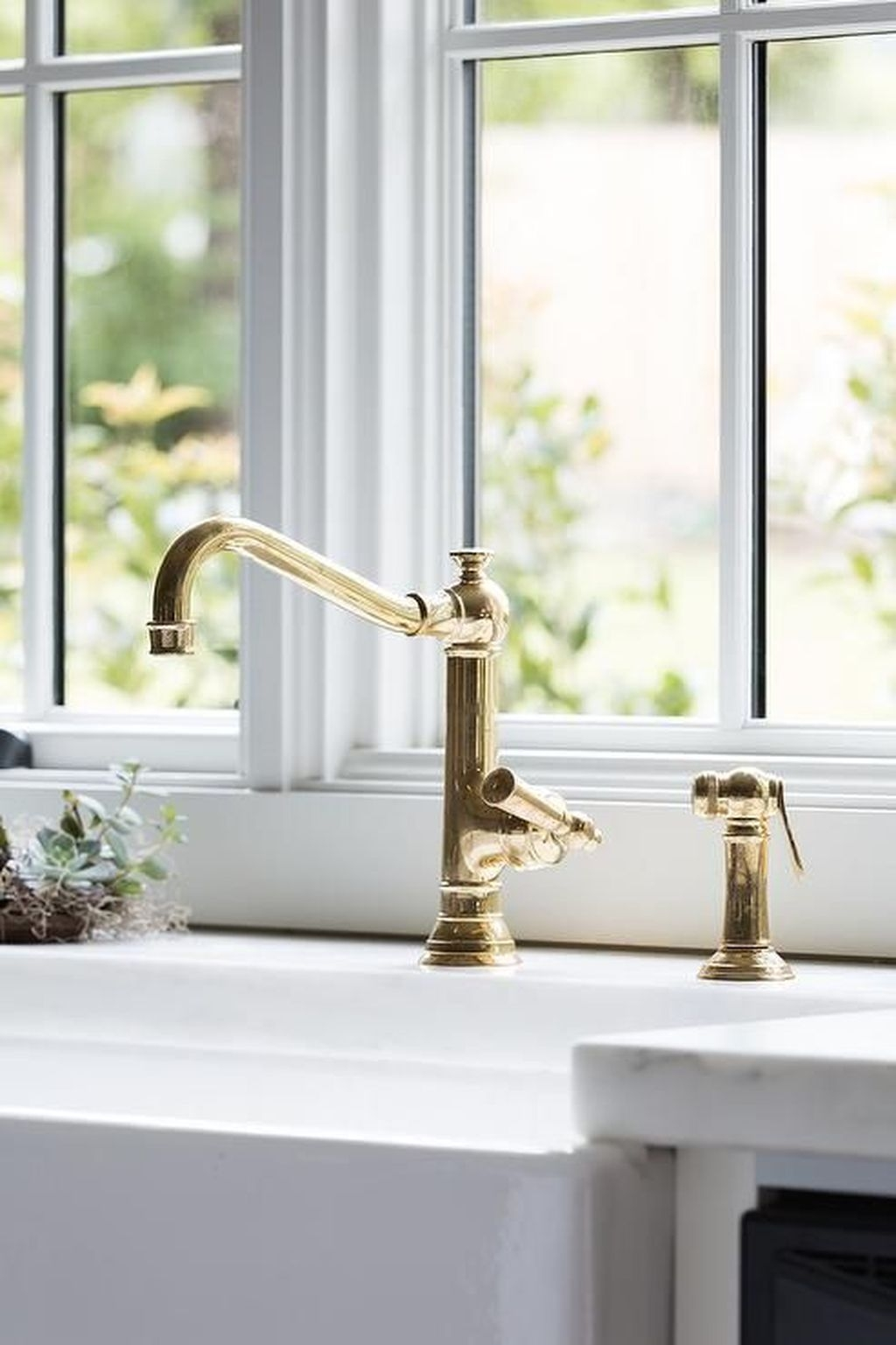 vintage kitchen faucet countertops pictures antique brass visual hunt with farm sink
