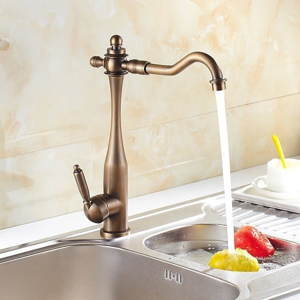 brass kitchen sink renovation financing antique faucet visual hunt inspired finish at