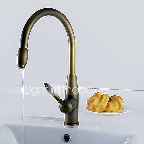 brass kitchen sink cabinet estimator antique faucet visual hunt inspired pull down