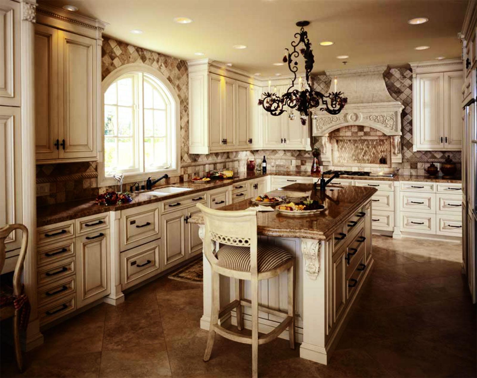 antique white kitchen cabinets 32 inch undermount sink visual hunt photo kitchens designs ideas