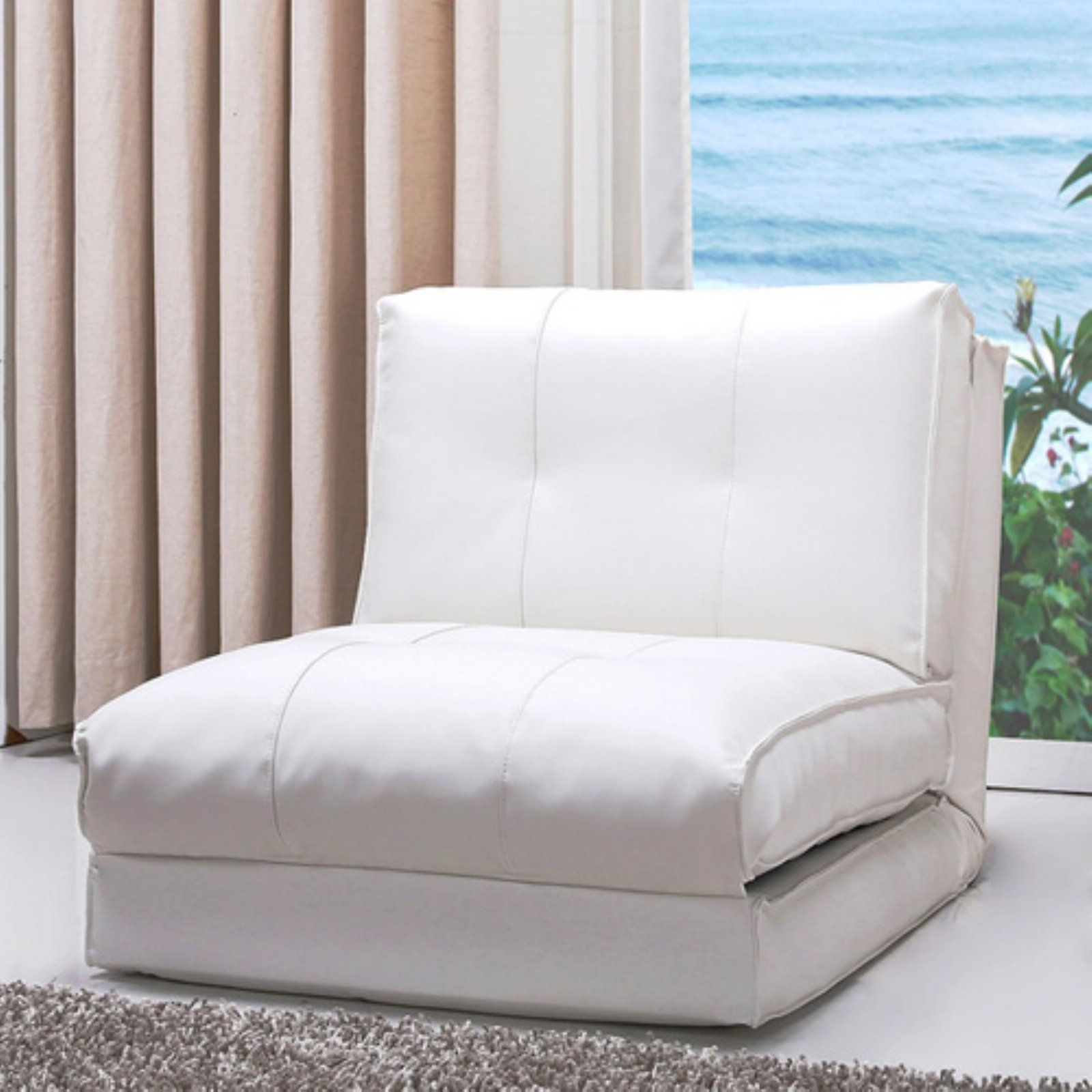 Foldable Bed Chair Single Sofa Bed Chair Visual Hunt