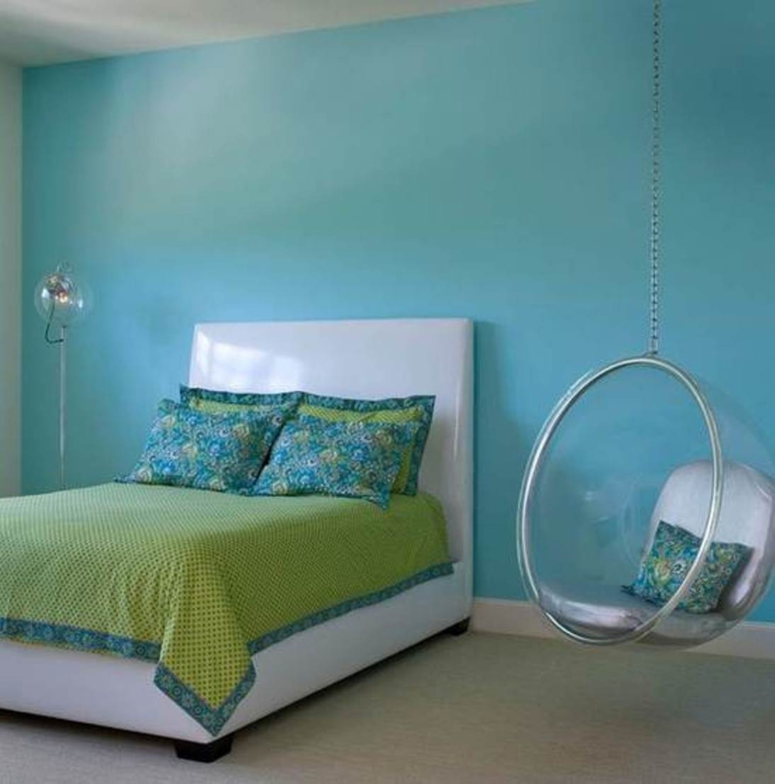 hanging chair in room covers macys for bedroom visual hunt beautiful that you ll love