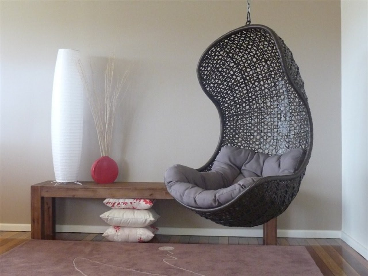 swing chairs for bedrooms costco table and hanging chair bedroom visual hunt dining room ikea cute